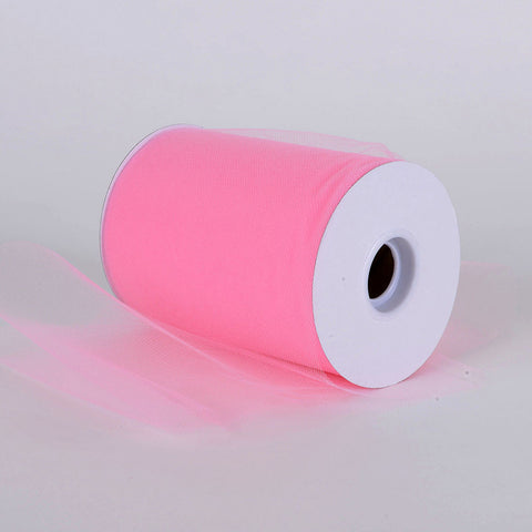 Hot Pink Premium Tulle 100 Yards ( W: 6 inch | L: 100 Yards ) -