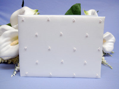 Reception Guestbook White ( 9.5 x 6 Inch ) -