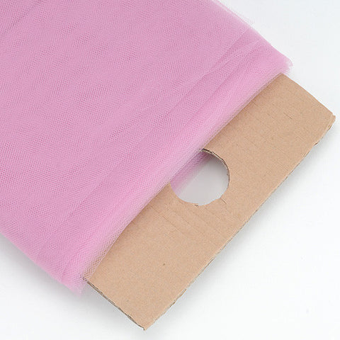 54 Inch Premium Tulle Fabric Bolt Rose Mauve ( W: 54 inch | L: 40 Yards ) - Ribbons Cheap