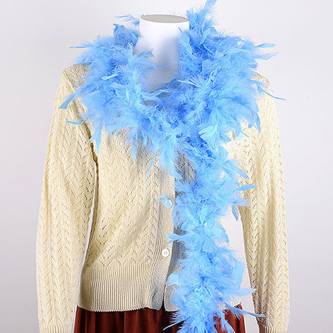 Feather Boas Blue ( 2 Yards Boa ) -