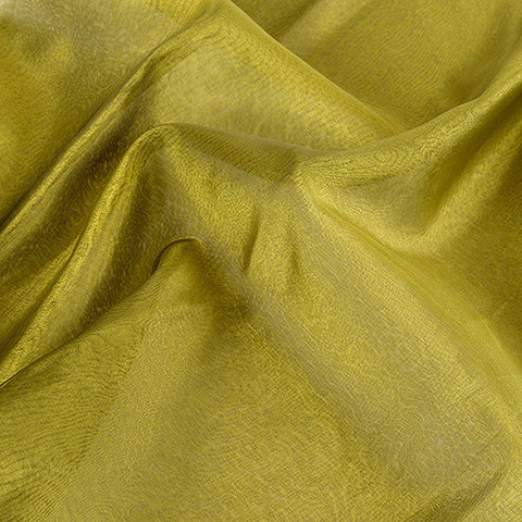 Two Tone Organza Overlays Green Black ( W: 28 inch | L: 108 Inches ) -