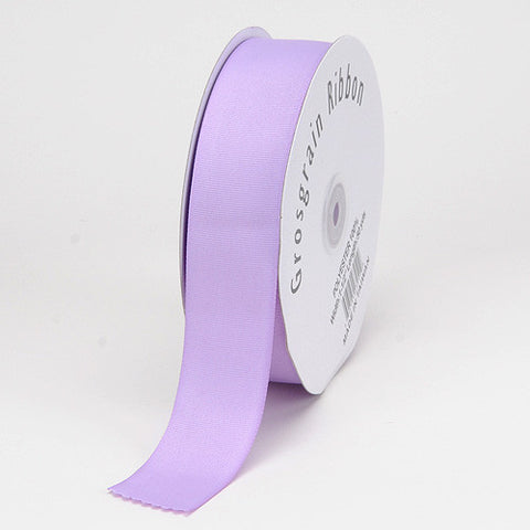 Grosgrain Ribbon Matte Finish Lavender ( W: 3 Inch | L: 25 Yards ) -