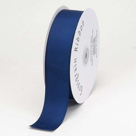Grosgrain Ribbon Matte Finish Navy ( 1-1/2 inch | 50 Yards ) -
