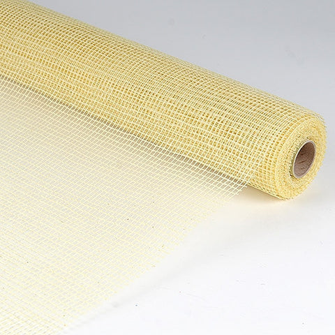 Natural Cotton Jute Ivory ( 21 Inch x 6 Yards ) -