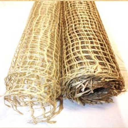 Natural Jute Mesh Ivory ( 21 Inch x 6 Yards ) -