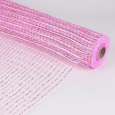 Floral Oasis Mesh Wrap Pink ( 21 Inch x 10 Yards ) -