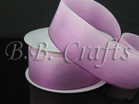 Ombre Ribbon Wired Edge Purple Pink ( W: 1-1/2 inch | L: 25 Yards ) -