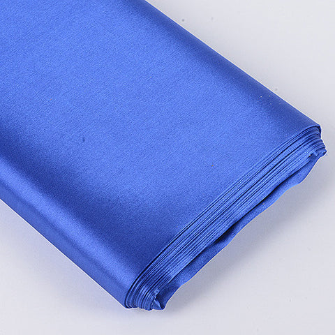 Premium Satin Fabric Royal Blue ( W: 60 inch | L: 10 Yards ) -