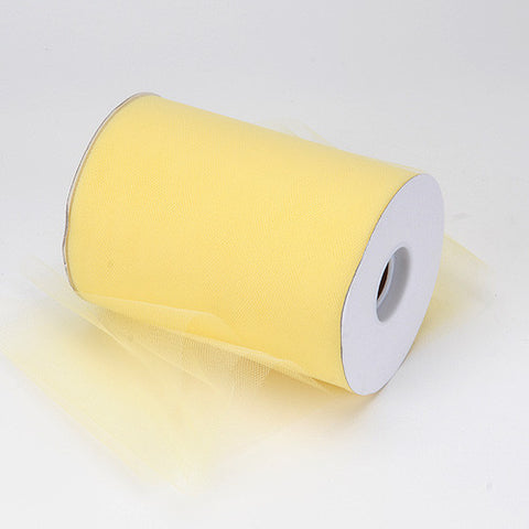 Baby Maize Premium Tulle 100 Yards ( W: 6 inch | L: 100 Yards ) -