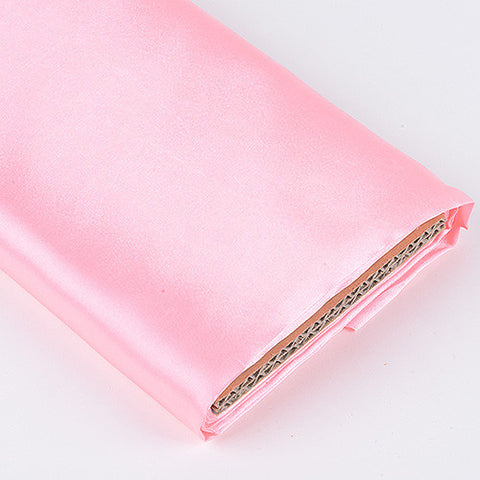 Premium Satin Fabric Pink ( W: 60 inch | L: 10 Yards ) -