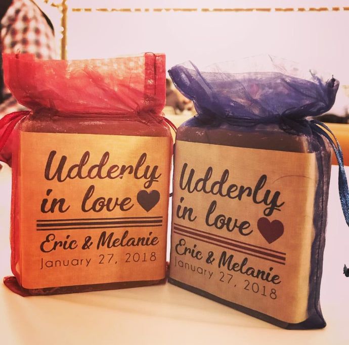udderly in the love wedding favors