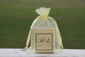 wedding favors with initials