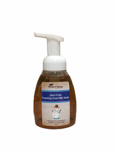 Jack Frost - Foaming Goat Milk Hand Soap - 8.5 oz.