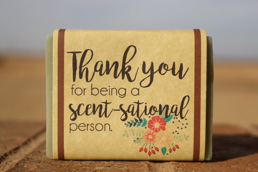 Thank You Goat Milk Soap