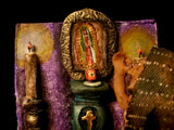 Ceramic Ofrenda with Guadalupe