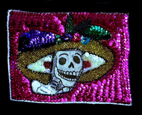 Sequined Catrina Patch