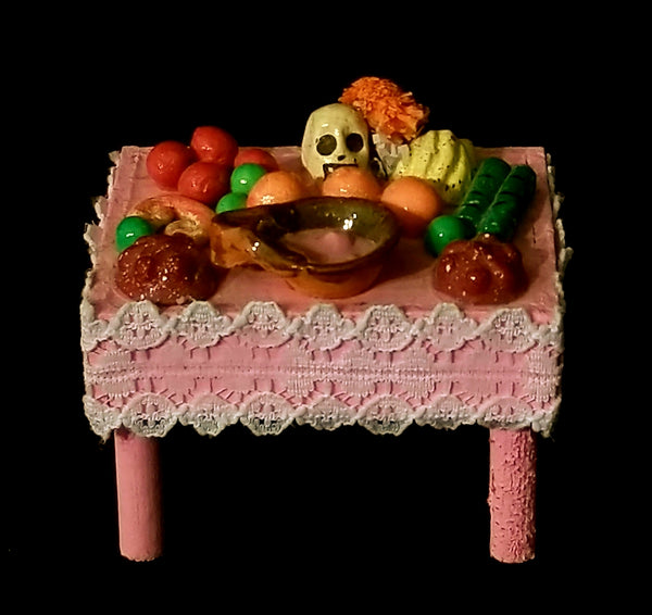 Miniature Ofrenda table