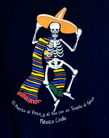 Dancing Mariachi Skeleton T Shirt