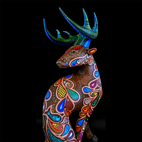 Reindeer by Jacobo and Maria Angeles Ojeda