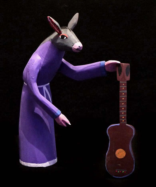 Musical Burro Monk