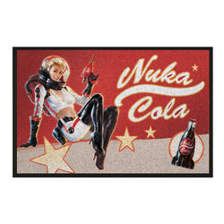 Fallout Nuka Cola Pin-Up Lábtörlő