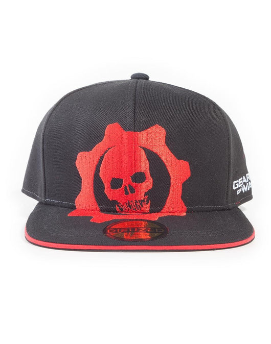 Gears of War Red Helmet Snapback Sapka