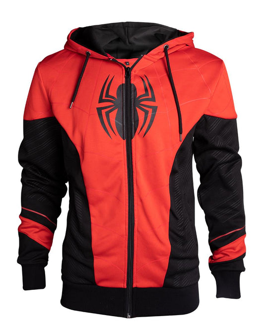 Spiderman Red and Black Outfit Kapucnis