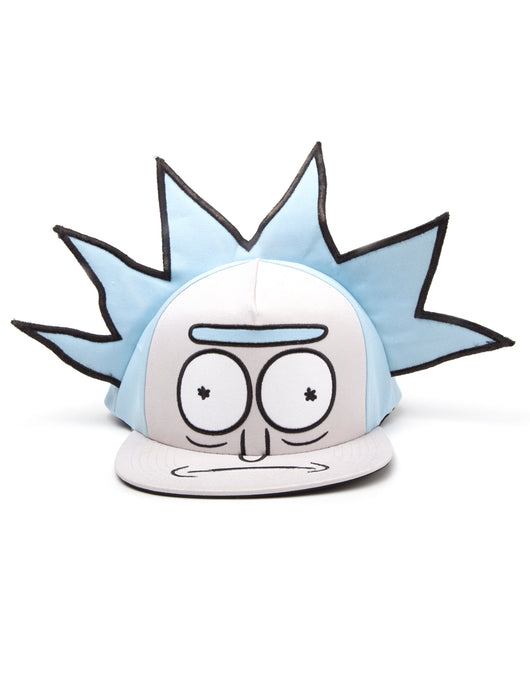 Rick and Morty Rick Novelty Snapback Sapka