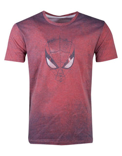 Spiderman Acid Wash Spiderman Red Póló