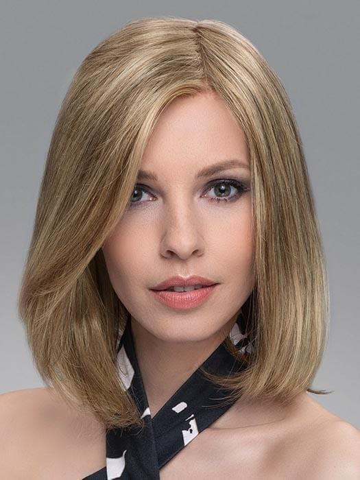 VARIO TOP PIECE by ELLEN WILLE in CARAMEL MIX | Dark Honey Blonde, Lightest Brown, and Medium Gold Blonde Blend
