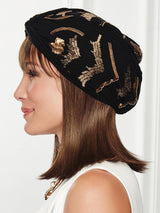 Under Cover Halo by Gabor is designed to be worn with a cap, turban or other head wraps