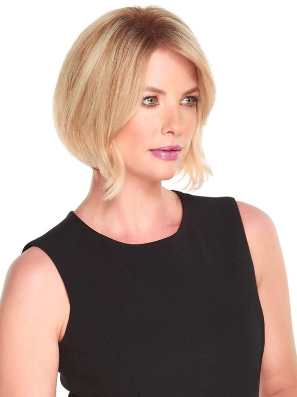 A one-piece hair topper, available in lengths of 8, 12 and 18 inches, adds instant thickness and body, clipping in quickly for all-day comfort