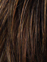 MOCCA-ROOTED 830.27.12 | Medium Brown, Light Brown, and Light Auburn blend and Dark Roots
