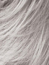SILVER GREY MIX 56.6 | Pure silver white With 75% Brown