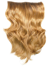 A ready-to-wear single-piece hair extension that molds to the contours of the head