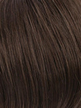 R6/10 | Chestnut Brown Blended With Medium Ash Brown
