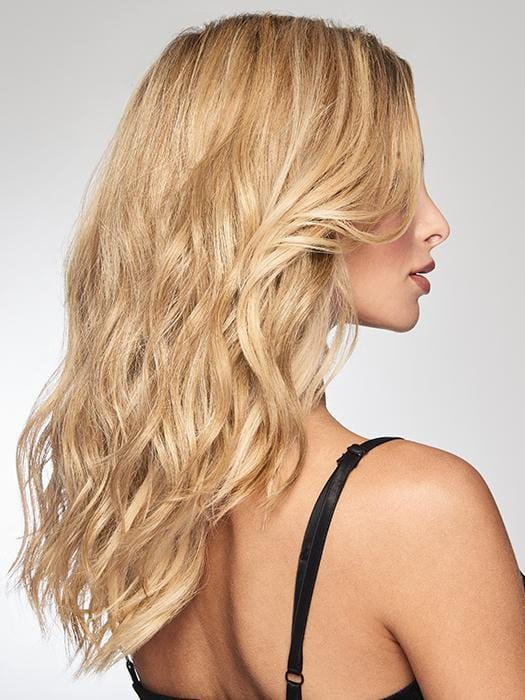 The heat-friendly synthetic Tru2Life fiber means it can be curled or straightened depending on your mood