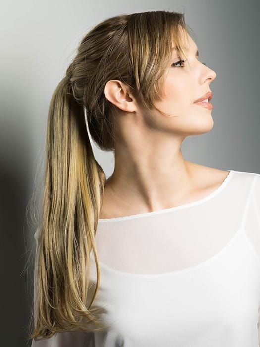 Add instant volume and length to your ponytail with the Pony Wrap by Estetica