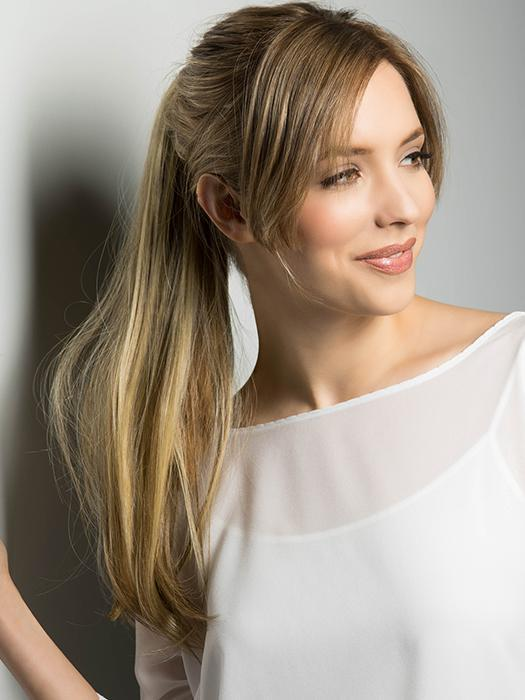 Add instant volume and length to your ponytail