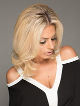 Creates fullness and thickness at the crown area