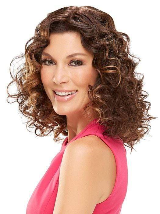 Styled with tight curls and shown with easiXtend 16 inch