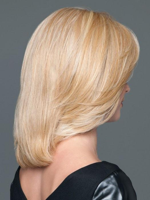 Mid-length, layered, and smooth synthetic top piece | Color: GL16-27