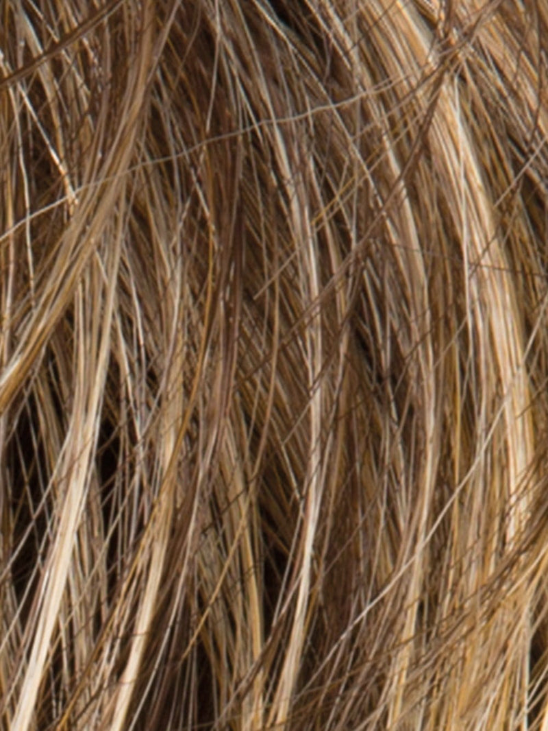 BERNSTEIN ROOTED | Light Brown Base with Subtle Light Honey Blonde and Light Butterscotch Blonde Highlights