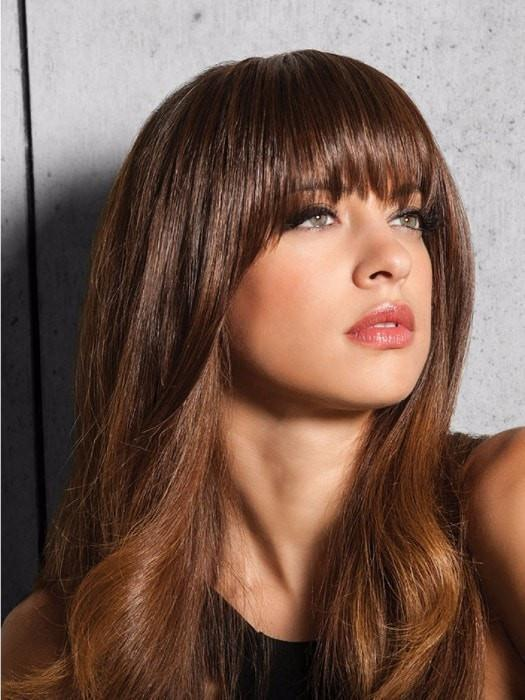 R6/30H = CHOCOLATE COPPER: Dark Brown with soft, Coppery highlights