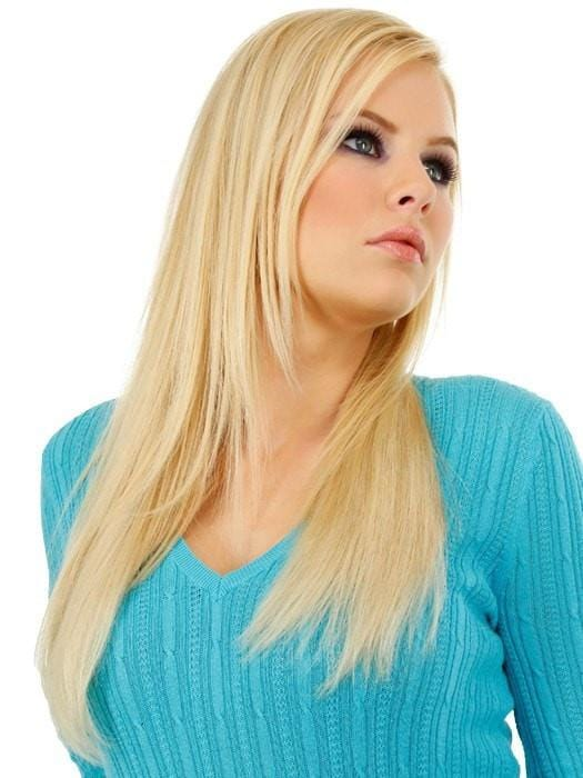 "18"" easiVOLUME REMY HUMAN HAIR EXTENSION by Hairdo in Color 613"
