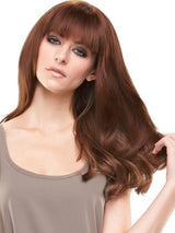 EASIFRINGE by easihair in 8/30 COCOA TWIST | Medium Natural Gold Brown and Natural Red-Gold Blend