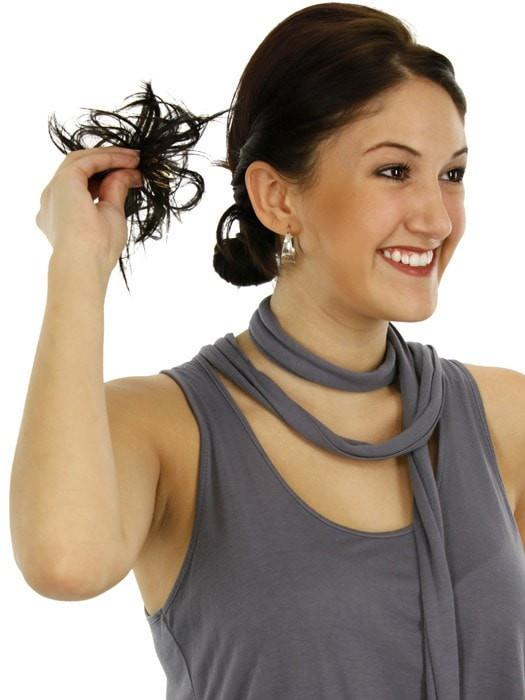 Its easy! | Spiky Clip In Hairpiece by HAIRDO