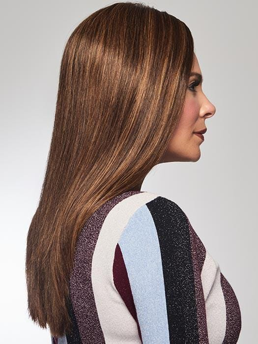 Softly tapered layers instantly adds extra length, fullness and coverage where needed