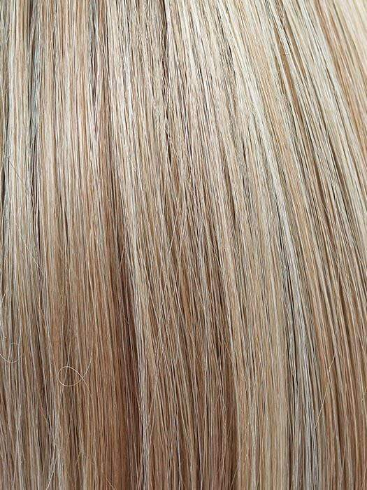 CHAMPAGNE BLUSH | Creamy White Blonde Base transitioning to Strawberry Blonde with Light Auburn highlights