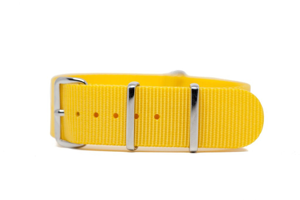 Yellow Tang Nylon Strap 20mm